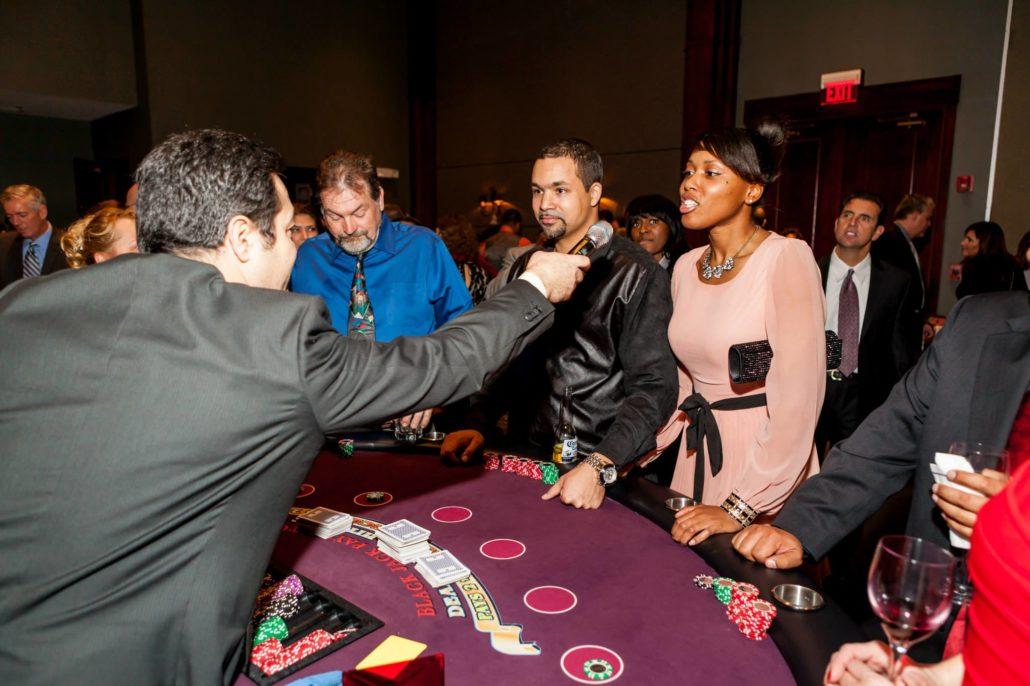 alan brown organizes casino parties