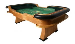 craps table rental from casino party experts